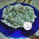 ბრინჯისა და სოკოს სალათა