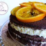 შოკოლადისა და ფორთოხლის ტორტი