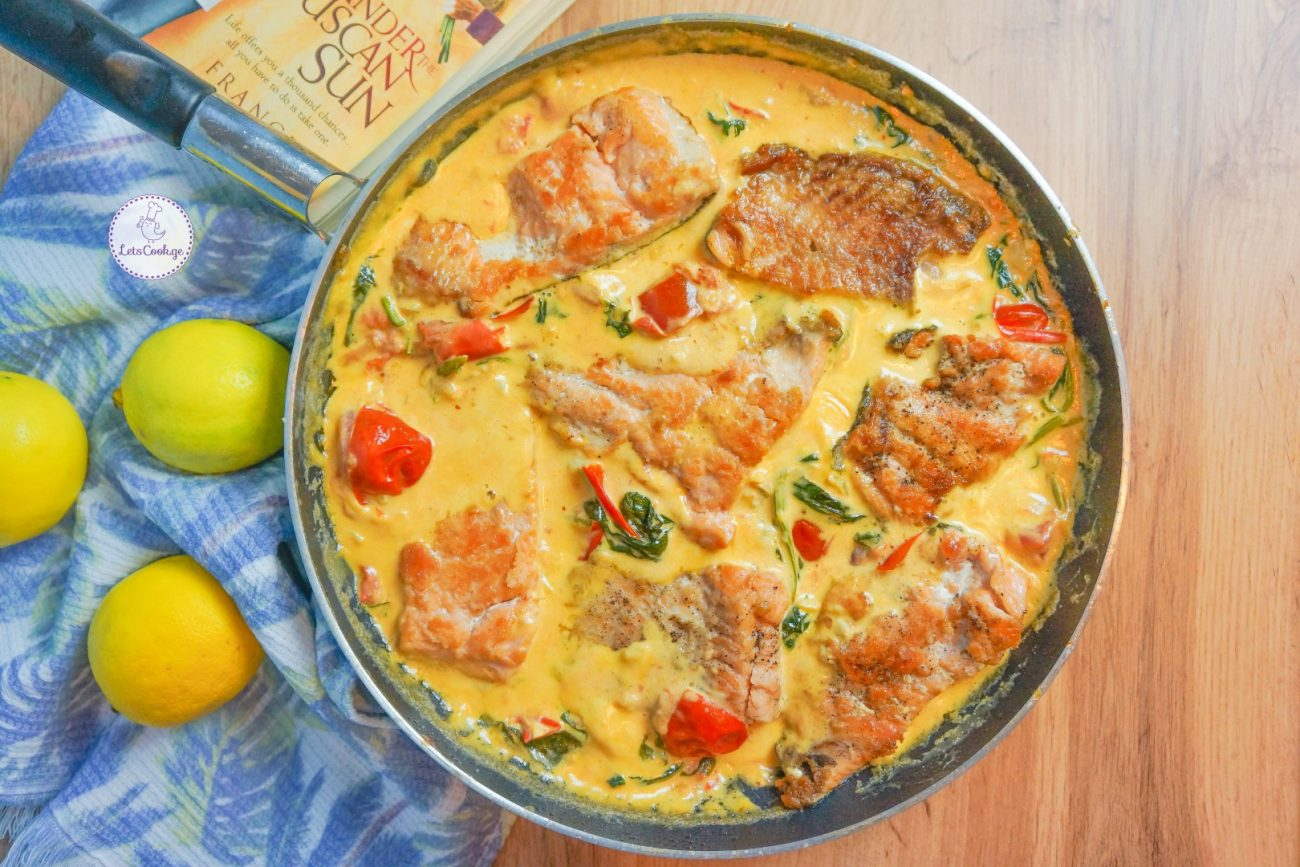 ორაგული ტოსკანურად – განსაკუთრებულად გემრიელი